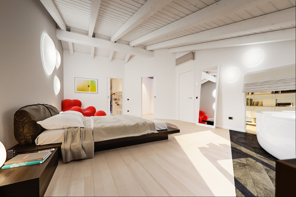 bedrooms color light