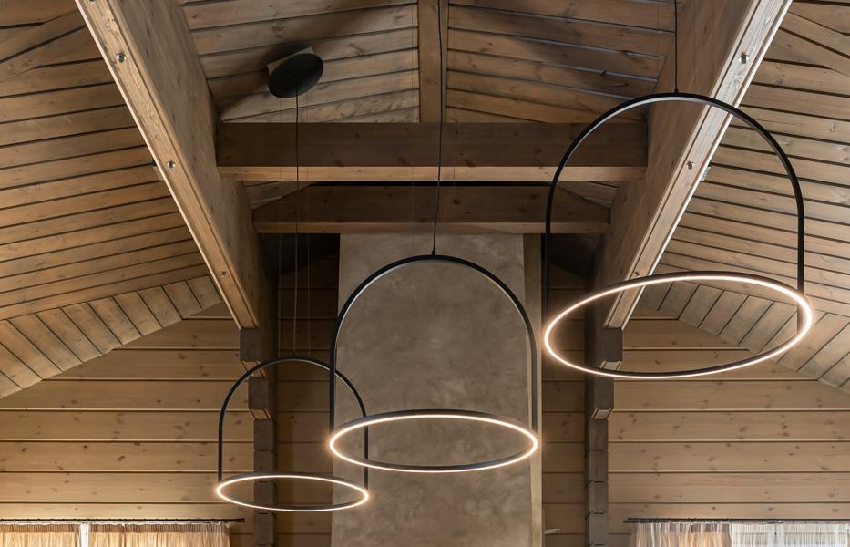 lighting in an attic
