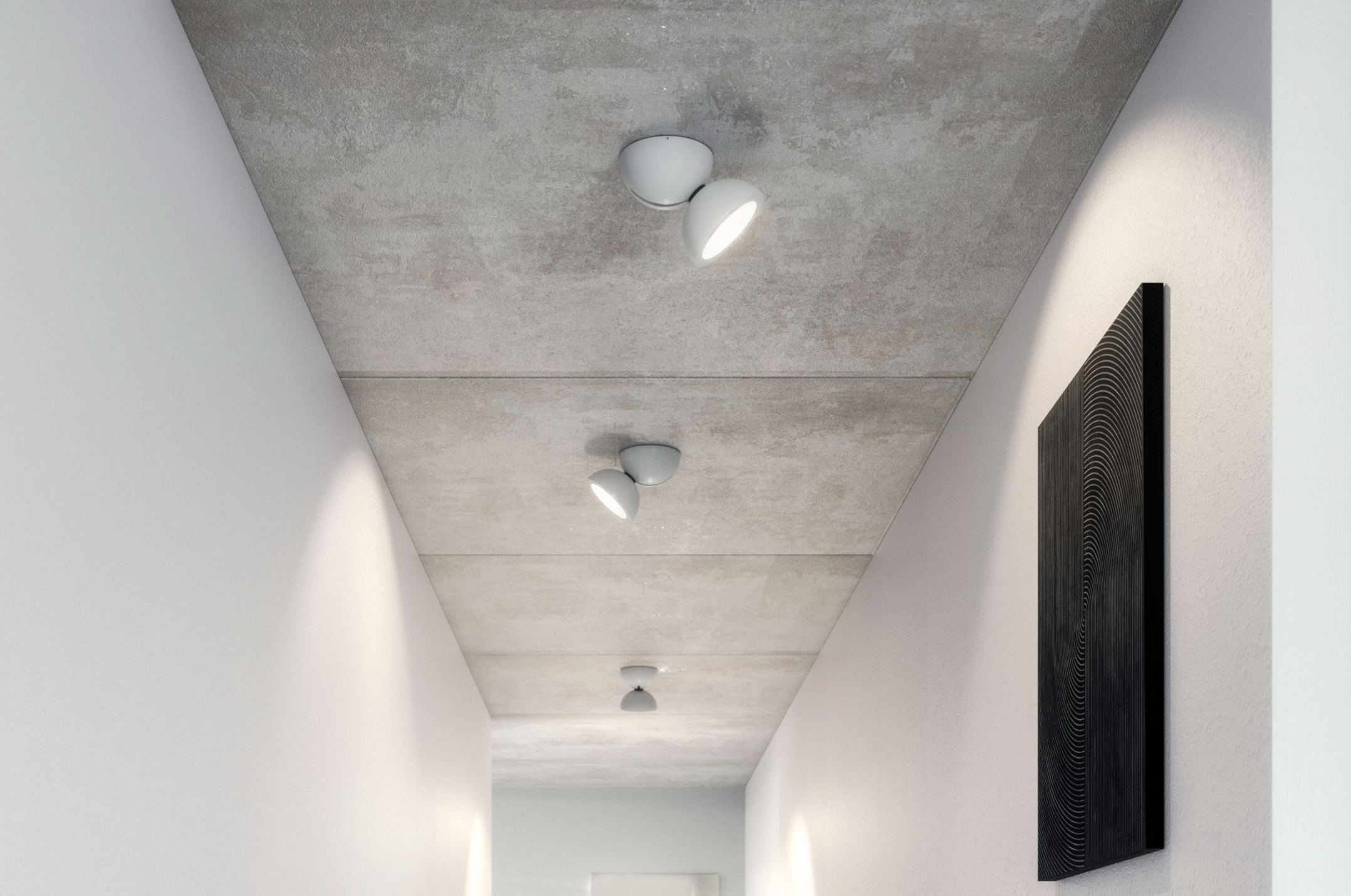 Lighting contemporary house